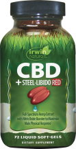 CBD +STEEL-LIBIDO RED® product image.