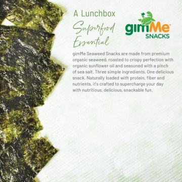 Organic Roasted Seaweed Snack product image.