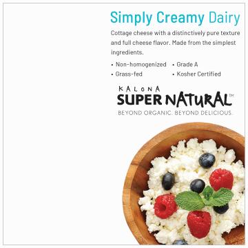 Organic Whole Milk Cottage Cheese product image.
