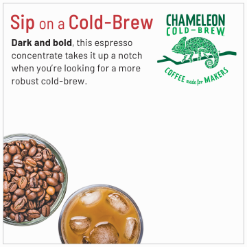 Organic Cold Brew Coffee Concentrate product image.