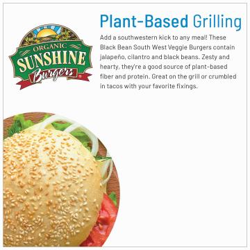 OrganicVeggie Burgers product image.