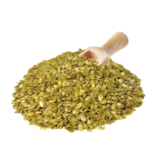 Organic Raw Pumpkin Seeds product image.