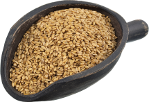100% Organic Flax Seed product image.