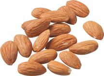 100% Organic Almonds product image.