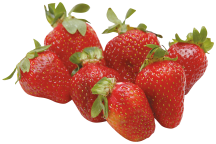 PRODUCE Organic Strawberries 16 OZ product image.